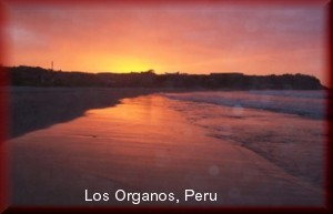 Los Organos sunset niche story build a niche website