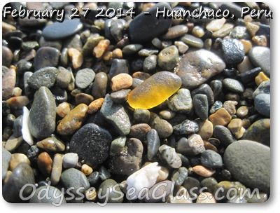 Huanchaco Beach Peru - Honey amber, my