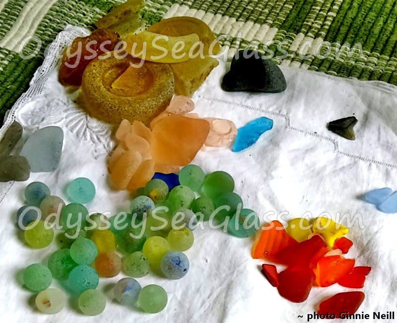 Rare Variety of Sea Glass Jamaica