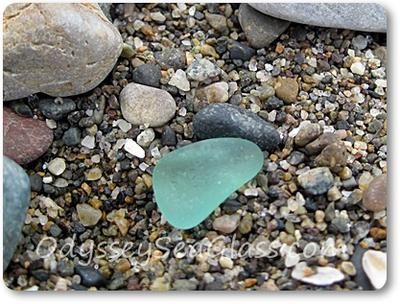 Huanchaco Beach Peru - Sea Glass 2013