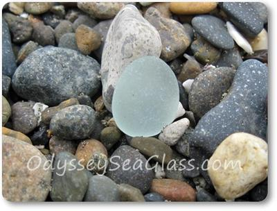 Huanchaco Beach Peru - Sea Glass November 4, 2013