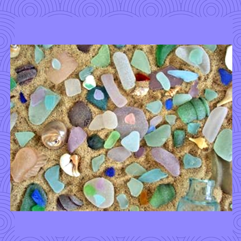 Massachusetts Sea Glass Beach
