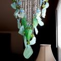 Sea Glass Wind Chimes Suncatcher