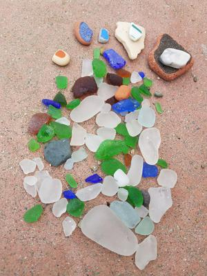 Sea Glass, Catalina Island, CA