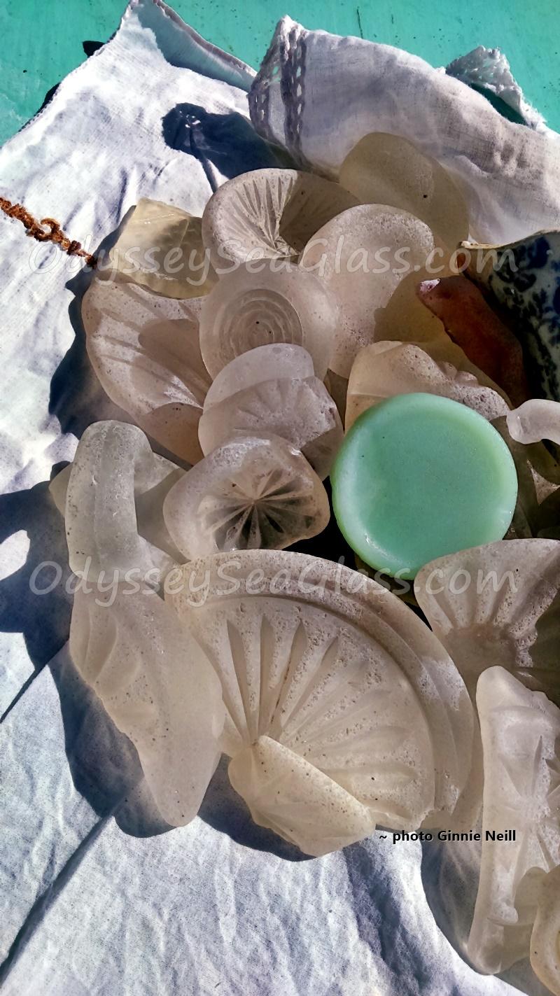 Jamaica Sea Glass Beach Black Glass