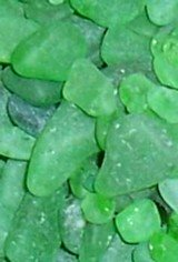 green sea glass bulk sea glass