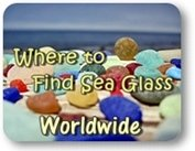 Where to find sea and beach glass worldwide