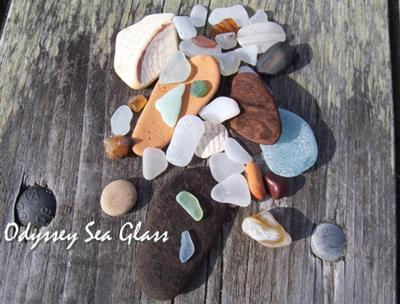 Beach Glass Catch of the Day