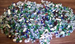 Odyssey Funnel Links North Beach - McGurdy Point - Port Townsend - Washington Sea Glass