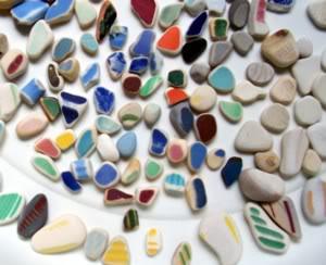 Beach Pottery - State of Washington USA