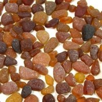 Gorgeous Colors of Brown Sea Glass