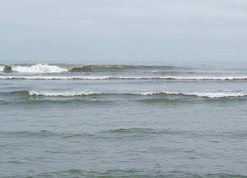 sea glass Huanchaco Peru beach surf