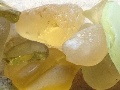 Yellow Beach glass