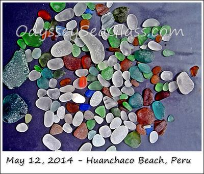 Beach Glass Peru