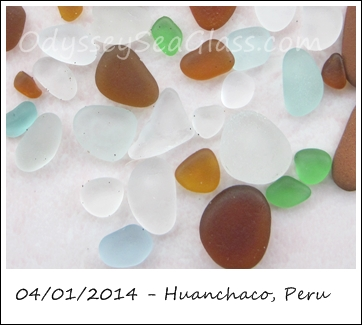 catch huanchaco sea glass
