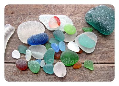 Catch of the Day - Sea Glass Colors