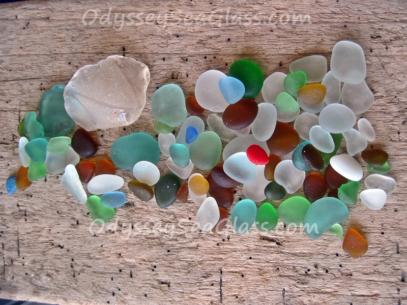Day's Total - Huanchaco Sea Glass June 2016