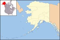 Nome Alaska Sea Glass Map