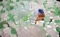 Lake Erie collecting sea glass