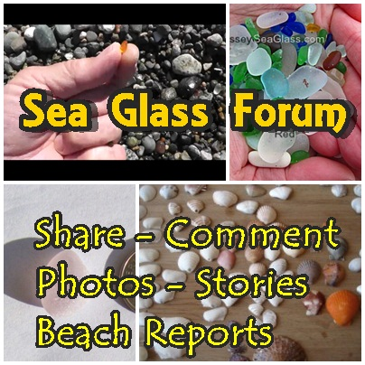 Sea Glass Forum - share, comment