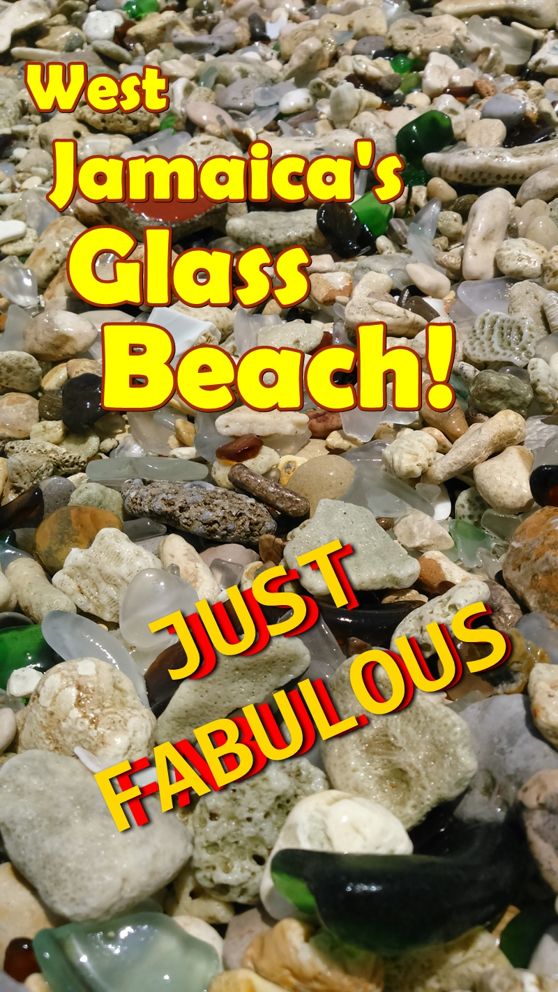 West Jamaica Sea Glass Beach