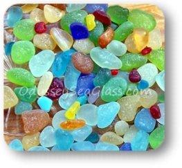 Itallian sea glass colors