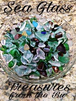 Malibu Beach Houses Sea Glass