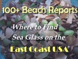 east coast sea glass beaches