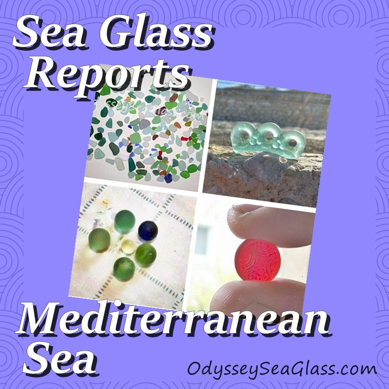 Mediterranean Sea Glass Beach Reports - Caspian and Black Sea