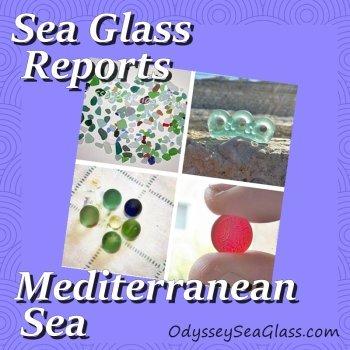 Mediterranean Sea Glass Beach Reports - Caspian and Black Sea
