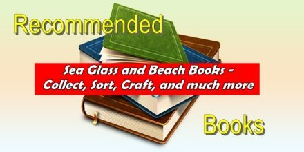 recommended sea glass and beach crafts books