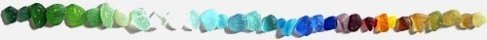 sea glass colors line