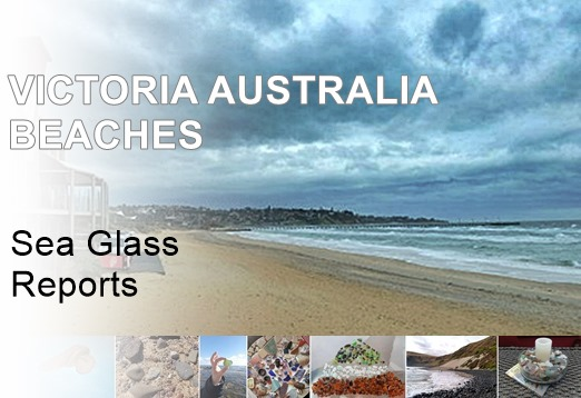 Beaches for sea glass, Victoria Australia
