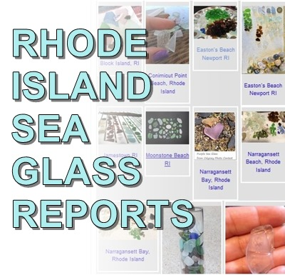 Rhode Island Sea Glass Reports