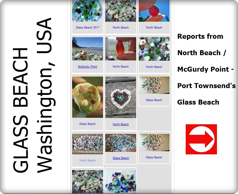 mcgurdy point north beach sea glass washington usa