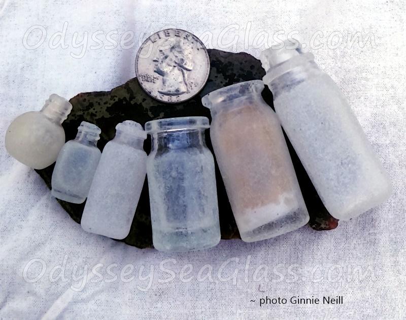 Jamaica Glass Beach Bottles