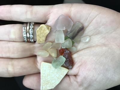 Sea Glass from Sea Bright