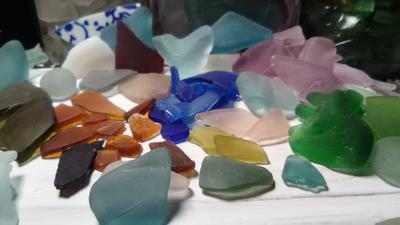 Alabama sea glass finds
