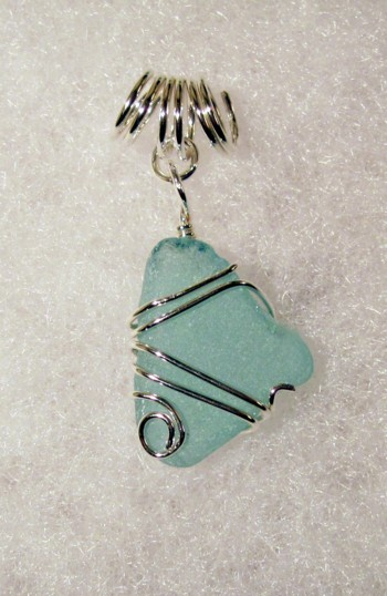 Sea glass commission jewelry beachglasspendantcommission aloadofball Images