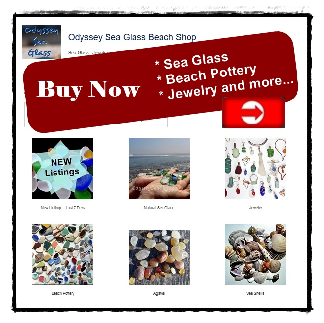 buy sea glass jewelry pottery agates