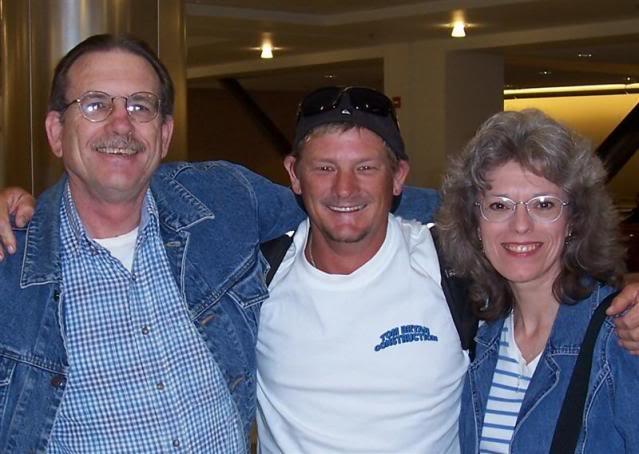 David, Matt, and Lin Schneider