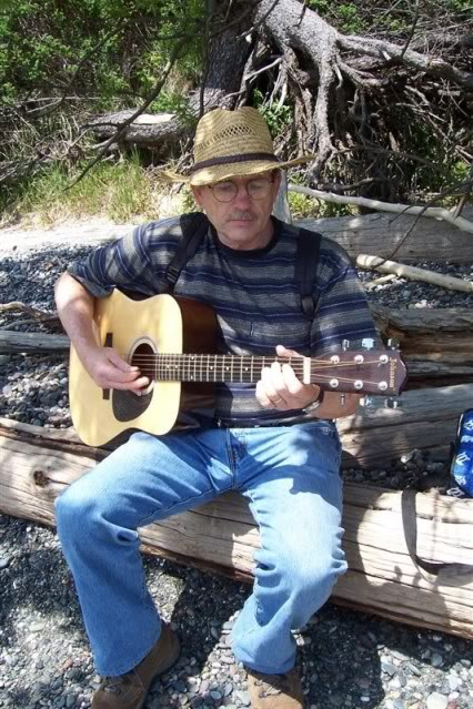 David Beach guitar May 2009