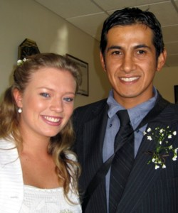 Kelsey and Cesar Mendizabal