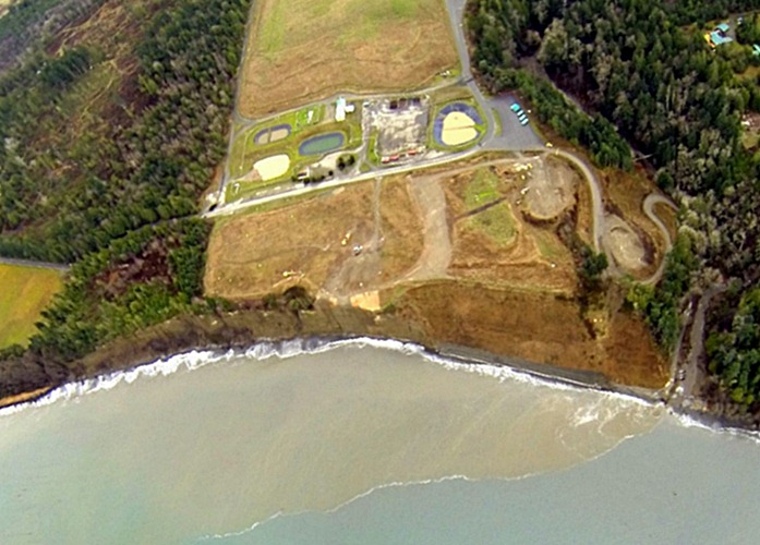 Old Gully Now Landfill - Aerial View