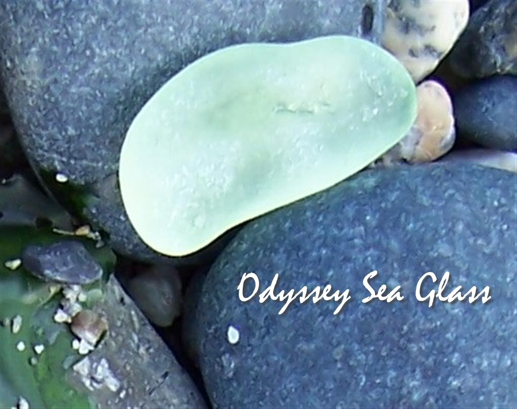 Beach Summer Blue Sea Glass