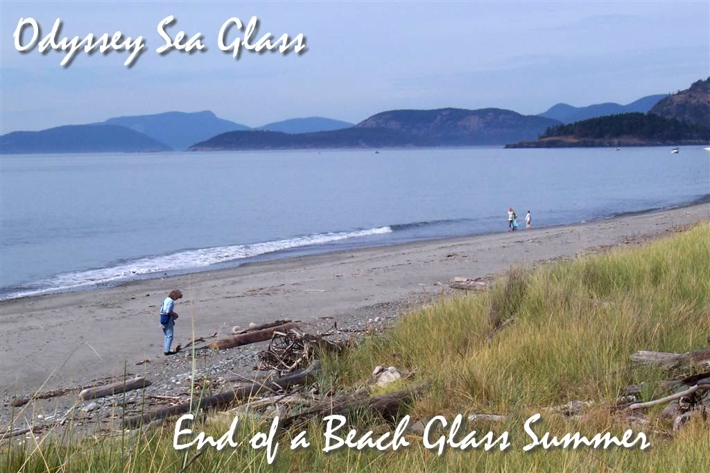 End of a Beach Glass Summer
