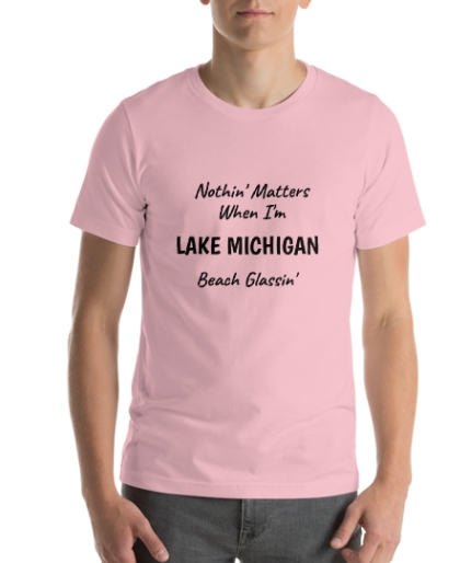 Michigan Nothing Else Matter Beach Glassin tee
