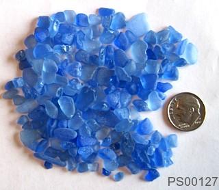 sea glass newsletter blue