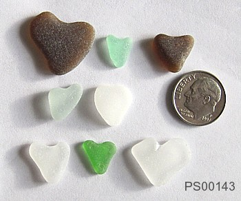 hearts sea glass newsletter