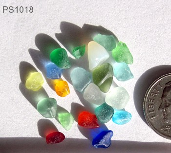 sea glass newsletter rare colors